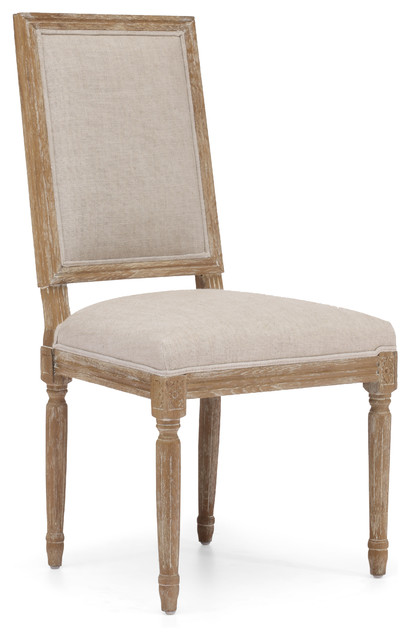 Cole Valley Chair Beige (set of 2) rustic-dining-chairs