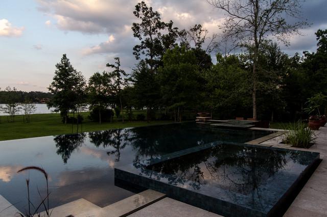 Stone Work by Prism Pools modern-pool
