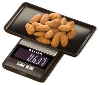 Salter Compact Electronic Scale contemporary-kitchen-scales