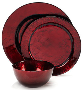 Celebration Dinnerware - Red modern dinnerware