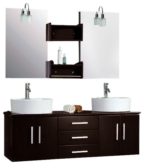 Wall Mount Faucet Bathroom Vanity : ... Storage Furniture / Bathroom Storage & Vanities / Bathroom Vanities