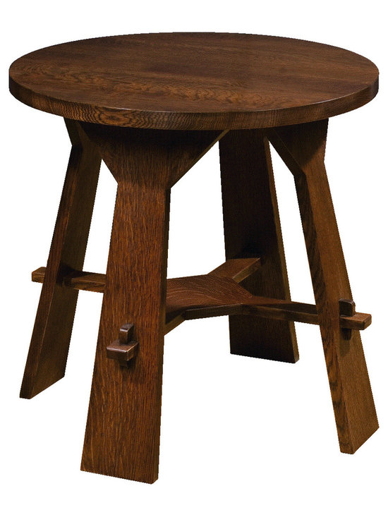 Prairie Home - Stickley recreates the Gus tea table, part of the New Works collection by Gustav Stickley.