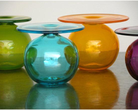 Elizabeth Lyons Glass Little Vases for Big Flowers -