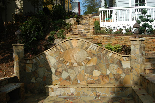Landscaping Stone Georgia : Retaining walls landscaping stones and pavers atlanta