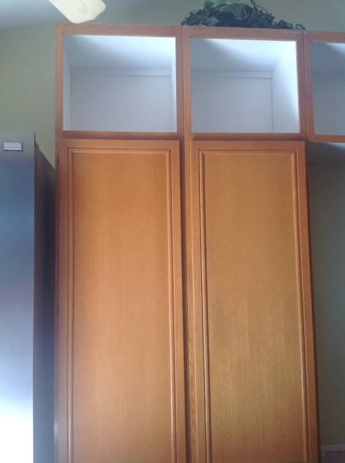 Replacing oak kitchen cabinet doors with maple for Replacement kitchen doors