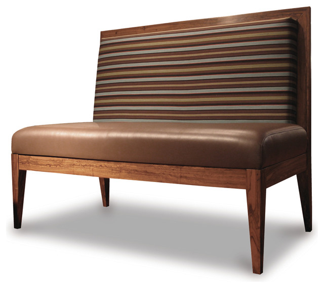 novecento settee contemporary dining chairs and benches