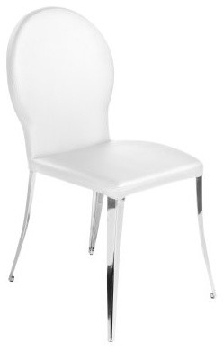 Euro Style Farid Dining Side Chairs - Set of 2 - White contemporary-dining-sets