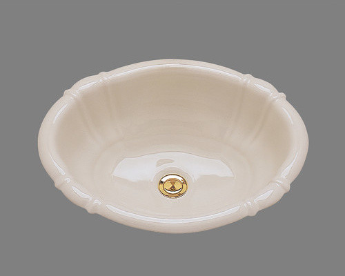Georgia Drop In Bathroom Sink with Overflow modern-bath-products