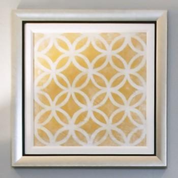 Symmetry Framed Art – Yellow   Pulp Home modern-artwork