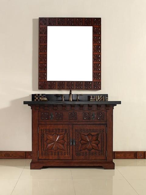 48 monterey single bath vanity mediterranean bathroom for Bathroom vanities in san diego