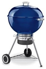 Weber One-Touch Gold 22-1/2 In. Charcoal Kettle Grill modern-outdoor-grills