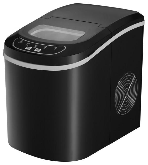 Portable Ice Maker, Black contemporary-small-kitchen-appliances