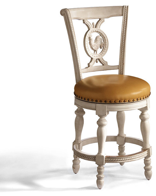 Provencal Rooster Swivel Counter Height Bar Stool 26 Quot H