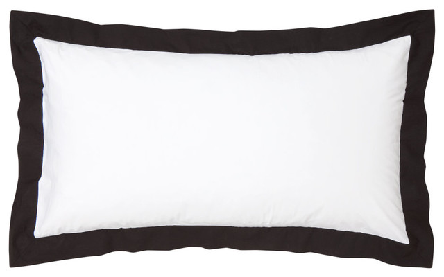 Pillowcase, White/Black - Modern - Bed Pillows - by H&M