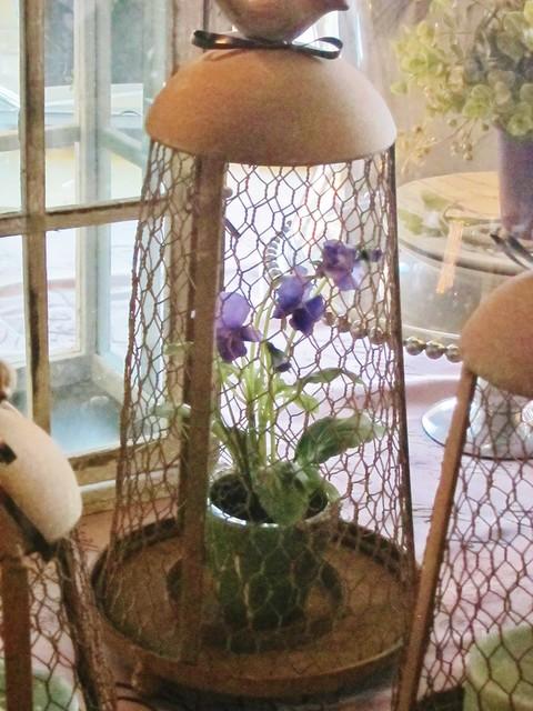Chicken Wire Lantern