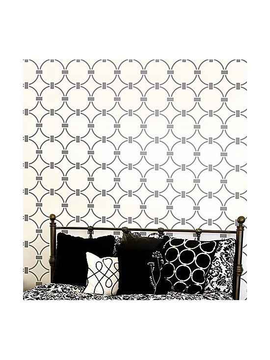 Chain Link All-Over Stencil -