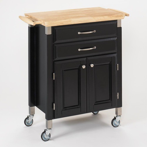 Dolly Madison Prep and Serve Kitchen Cart Modern