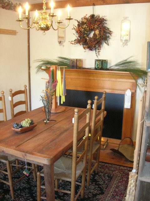 Reclaimed Wood Tables eclectic-dining-tables