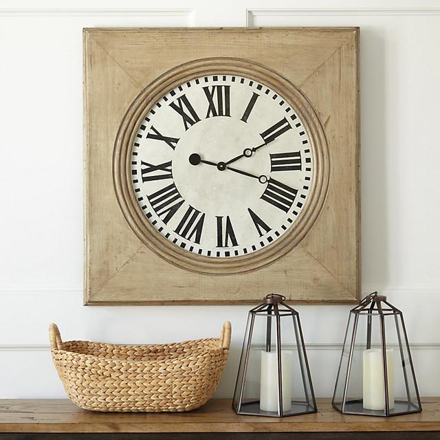 Wall Clock Ballard Design : Durand wall clock traditional clocks by ballard designs