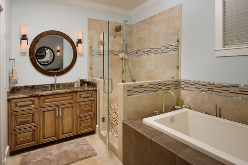 Emperador dark marble bathroom countertops ideas for Travertine eye drops
