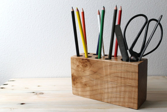 Modern Desk Organizer by The Design Pallet - modern - desk ...