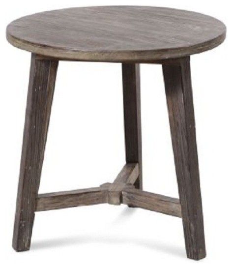 Bassett Mirror Cotswold Round End Table T2232 220
