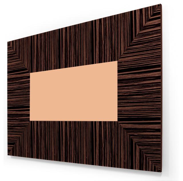 Ebony 50 55 TV Wall Panel Contemporary Home