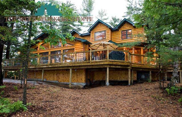 Log Siding Log Cabin Home