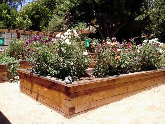 Raised garden beds modern san diego by zmk for Modern garden beds