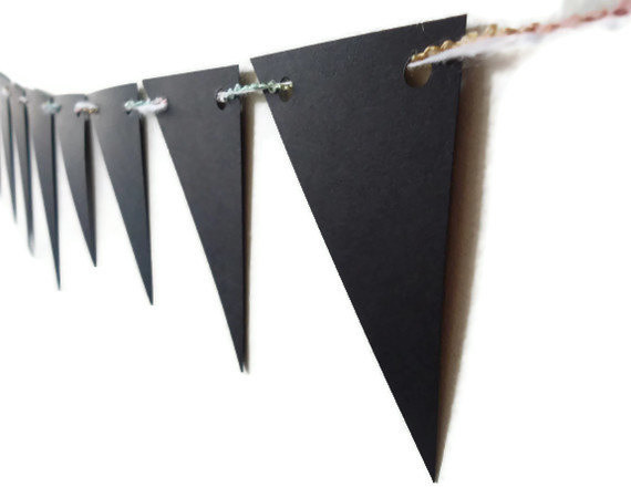 Decorative Paper Bunting By LoveStar1 contemporary-home-decor
