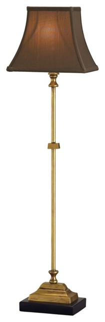 Traditional Parody Antique Brass Table Lamp traditional-table-lamps