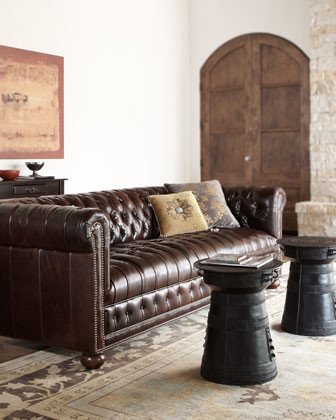 """Old Hickory Tannery """"Royal"""" Sofa traditional-sofas"""