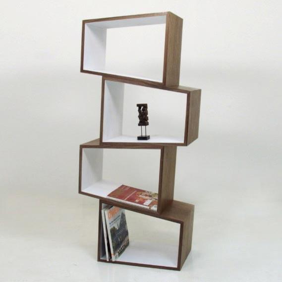 Boom Trapezium Storage Cube contemporary-bookcases