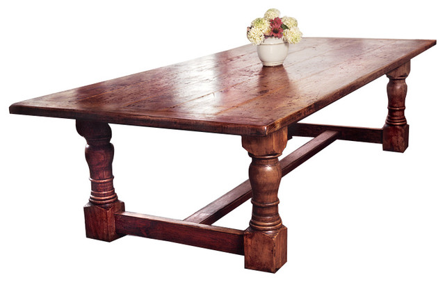 Designs in Wood Red Cherry Tavern Table contemporary-dining-tables
