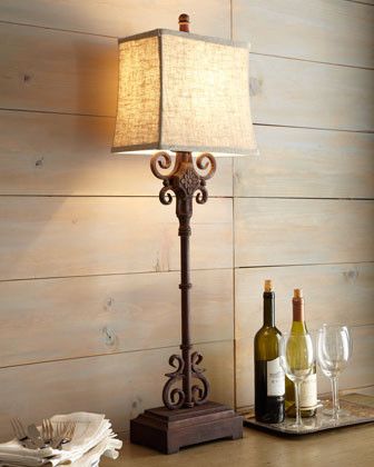 Monterrey Buffet Lamp traditional-table-lamps