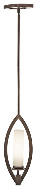 "Contemporary Neptune Place Bronze 6 1/2"" Wide Pendant Chandelier contemporary-pendant-lighting"
