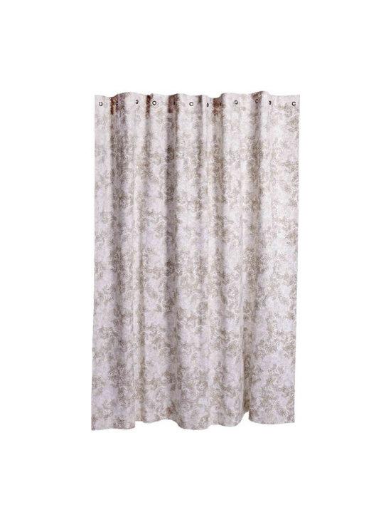 John Robshaw - Canopy Shower Curtain design by John Robshaw