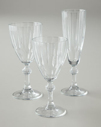 """Four """"Reflections"""" Wine Glasses traditional-everyday-glasses"""