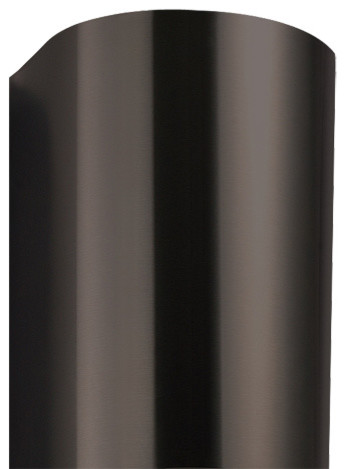 "21"" Flue Cover for 30"" Provence Series Steel Black Wall-Mount Range Hood contemporary-range-hoods-and-vents"