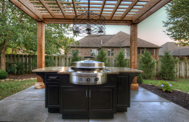 Select outdoor kitchens pergola evo traditional for Outdoor kitchen ideas houzz