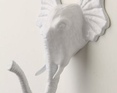 Encased Elephant Hook eclectic hooks and hangers