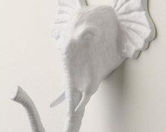 Encased Elephant Hook eclectic-hooks-and-hangers