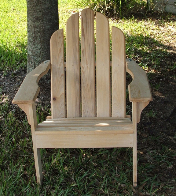 Outdoor Furniture Orlando: Cypress Adirondack Chair