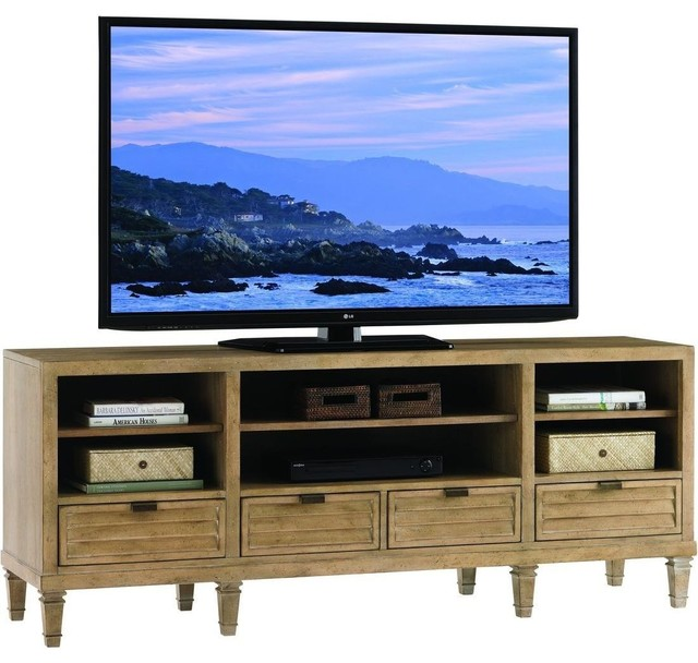 Lexington Monterey Sands Spanish Bay Entertainment Console - Transitional - Entertainment ...