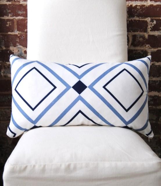 Decorator Fabric Diamond Lights Victoria Hagan Home Collection By Martha & Ash contemporary-decorative-pillows