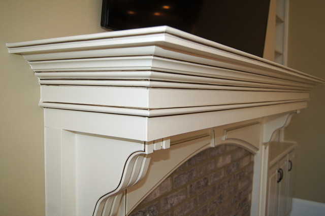 Bookcases And Fireplace Mantels Traditional Atlanta By Creative