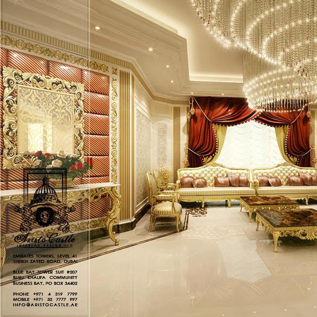 Luxury villas in dubai traditional other metro by aristo castle
