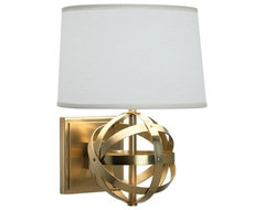 Robert Abbey Lucy Wall Sconce eclectic-wall-lighting