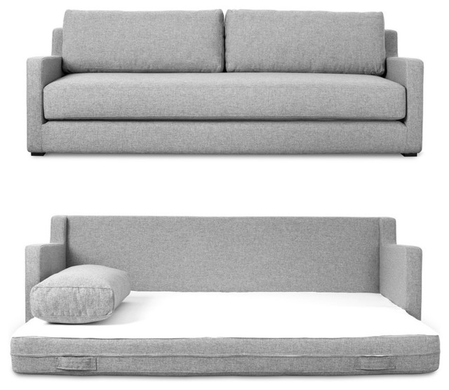 Flip Sofa Bed By Gus Modern, Parliament Stone