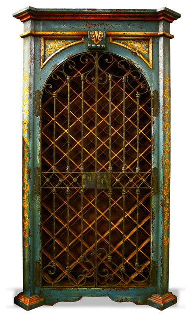 Feel the Teal - Eclectic - Wine Racks - houston - by Koenig Collection